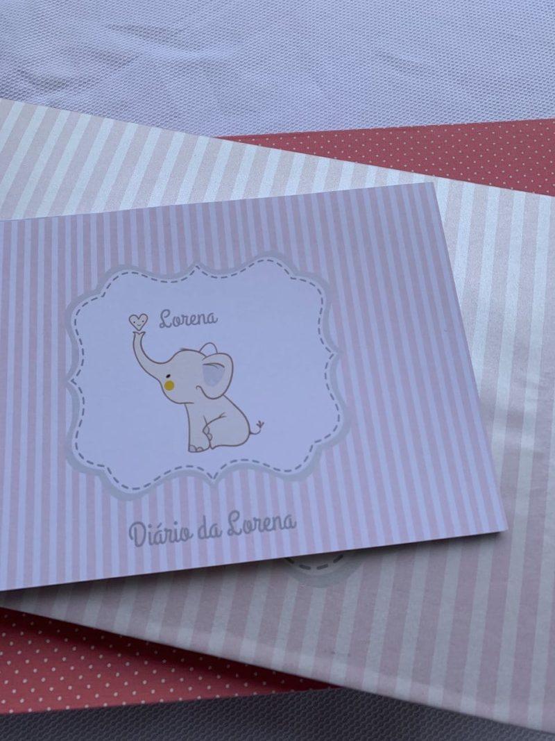Diário de amamentação personalizado da Lorena