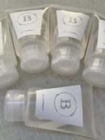 bisnaga de gel personalizada com rótulo