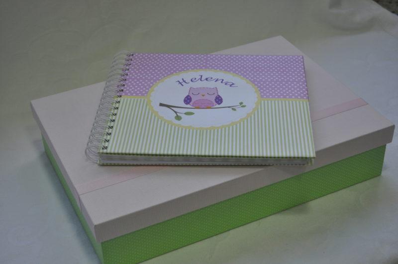 lembrancinha personalizada Livro De Assinatura + Caixa Personalizada