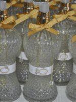 SABONETE LIQUIDO 450ml frasco modelo Retro com fita, pigentes e rotulo personalizado