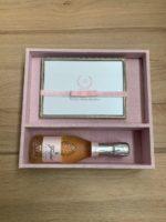 Kit padrinho personalizado I com espumante freixenet italian rose e porta retrato
