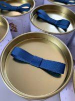 tampa da lata petit gourmet com laço chanel simples