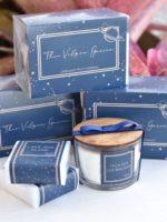 Kit Mimo maternidade com vela, sabonete e embalagem