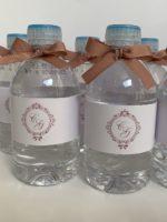 Água Mineral personalizada com rótulo e fita
