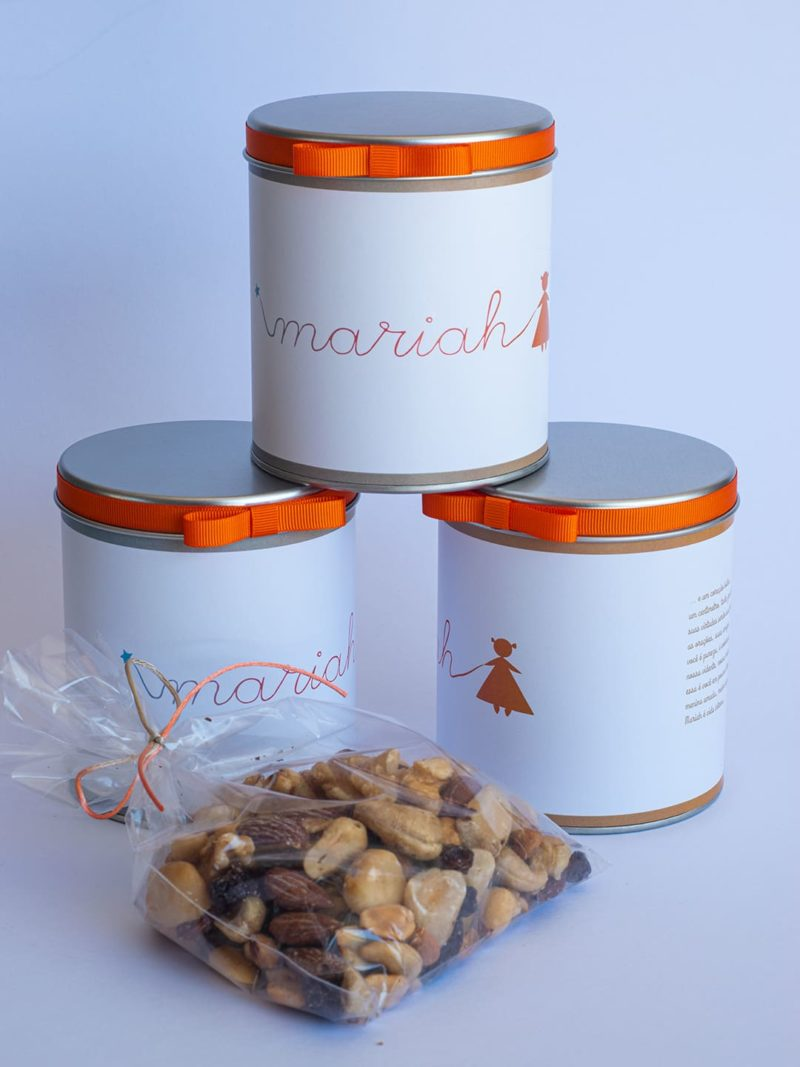 Lata Luxo com Mix de Nuts para Mariah